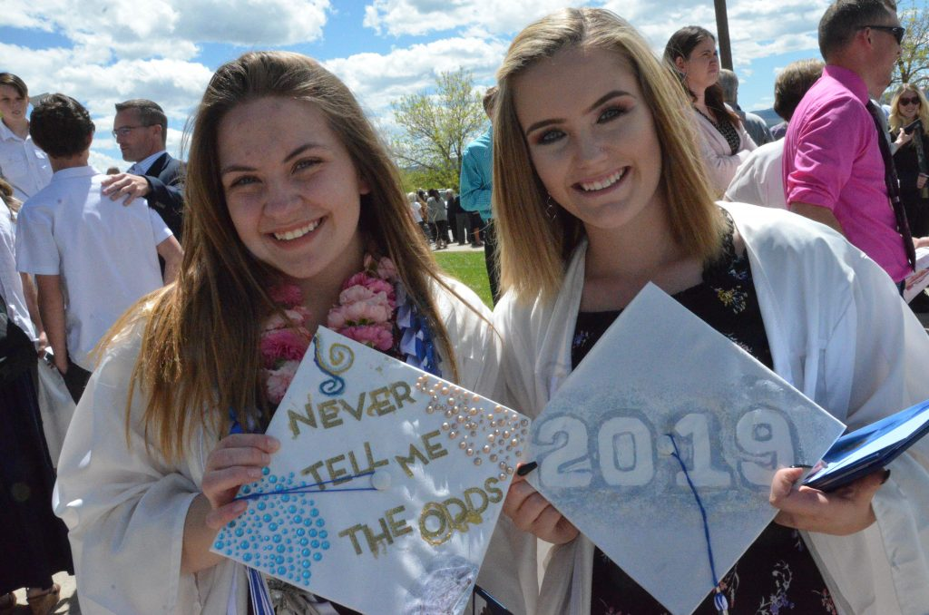 19 photos of Moffat County Class of 2019 graduation caps