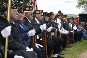 Residents honor the fallen  at Craig Cemetery Memorial Day service
