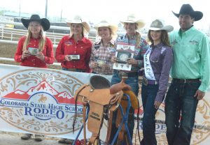Moffat County's Kinlie Brennise snares breakaway roping state title