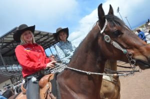 National rodeo qualifier Katie Jo Knez talks goat tying on Colorado Public Radio