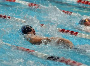 Moffat County swimmer Cody Evaristo keeps kicking to compete in state backstroke race