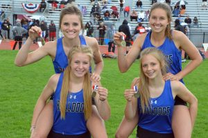 Moffat County relay team gains All-State honors to round out school year