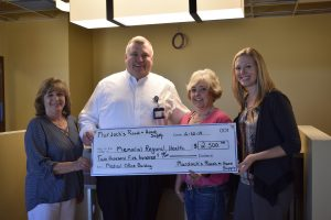 Murdoch's donates to Memorial Regional Health's newest building