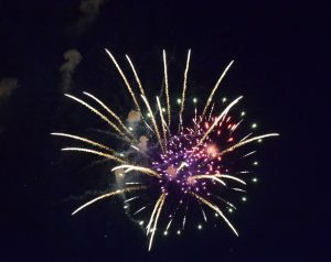 Firefighters' fireworks show delights Craig crowd
