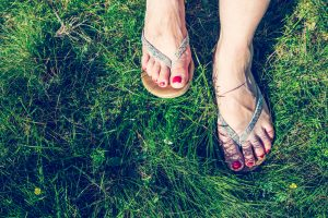 Living Well: Don't let the wrong summer footwear harm your feet
